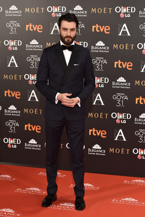 Actor Javier Rey at photocall during the 31th annual Goya Film Awards in Madrid, on Saturday 4th February, 2017.